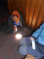 Zahřívání nad lampou