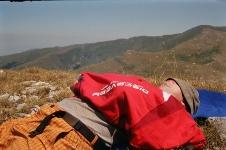 Polední siesta pod makednoským sluncem